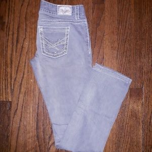 Maurices Jeans - Maurices gray straight leg jeans sz 5/6